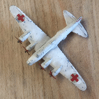 TEKNO DENMARK B -17 RED CROSS