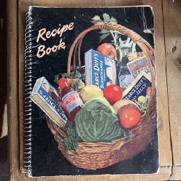 Pearce Duff's RECIPE BOOK レシピブック